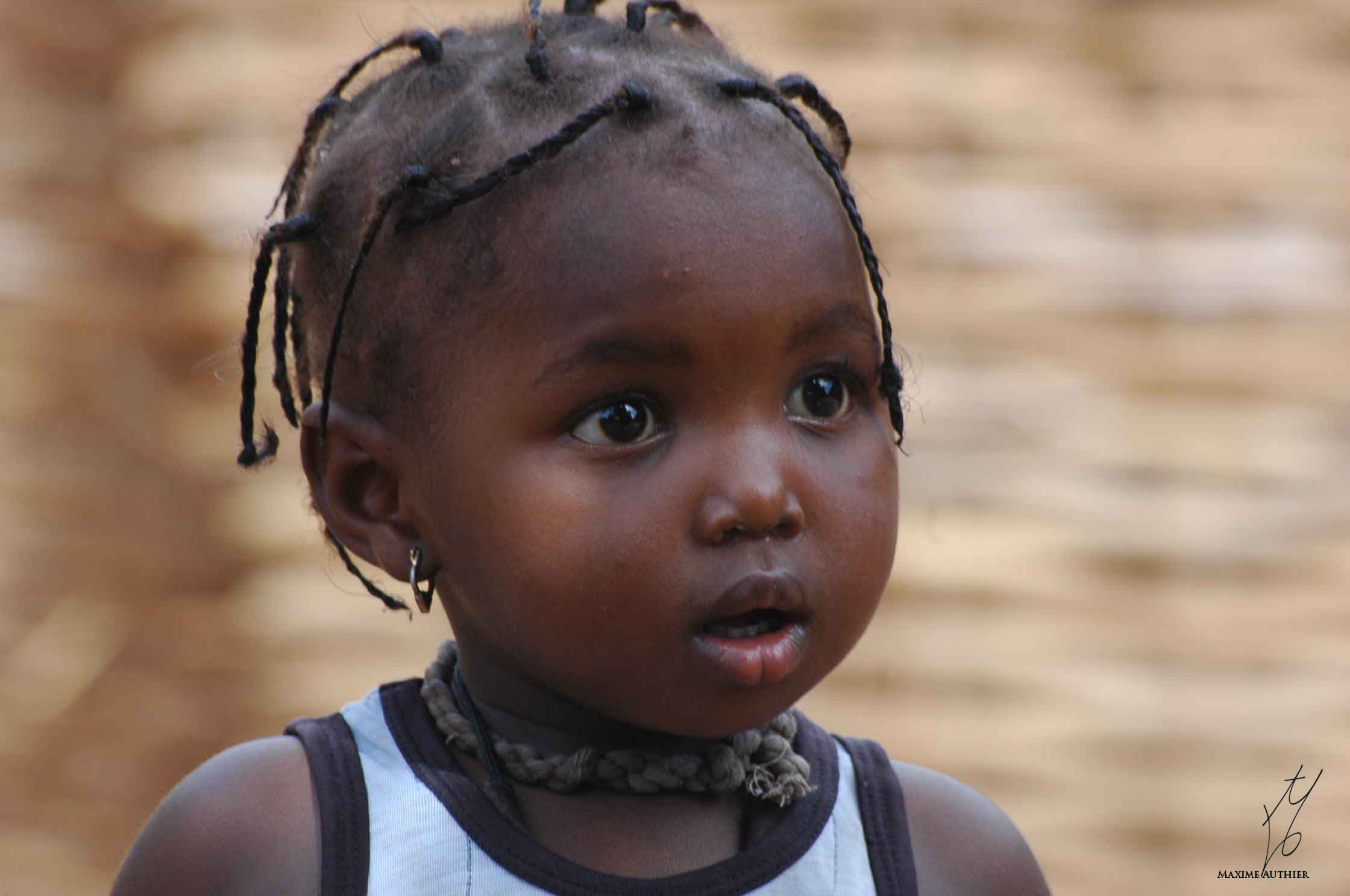 Petite fille africaine