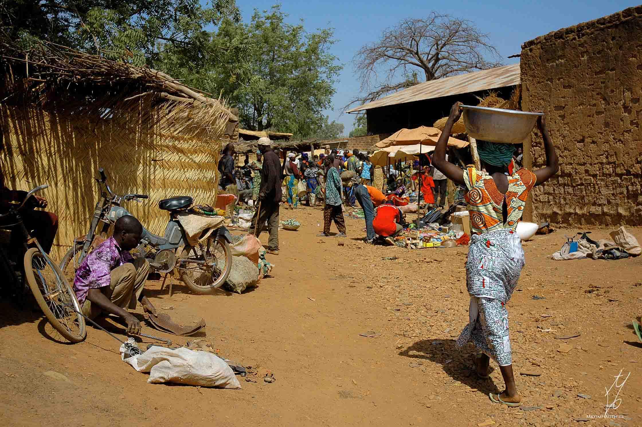 Les jours de marché en Afrique