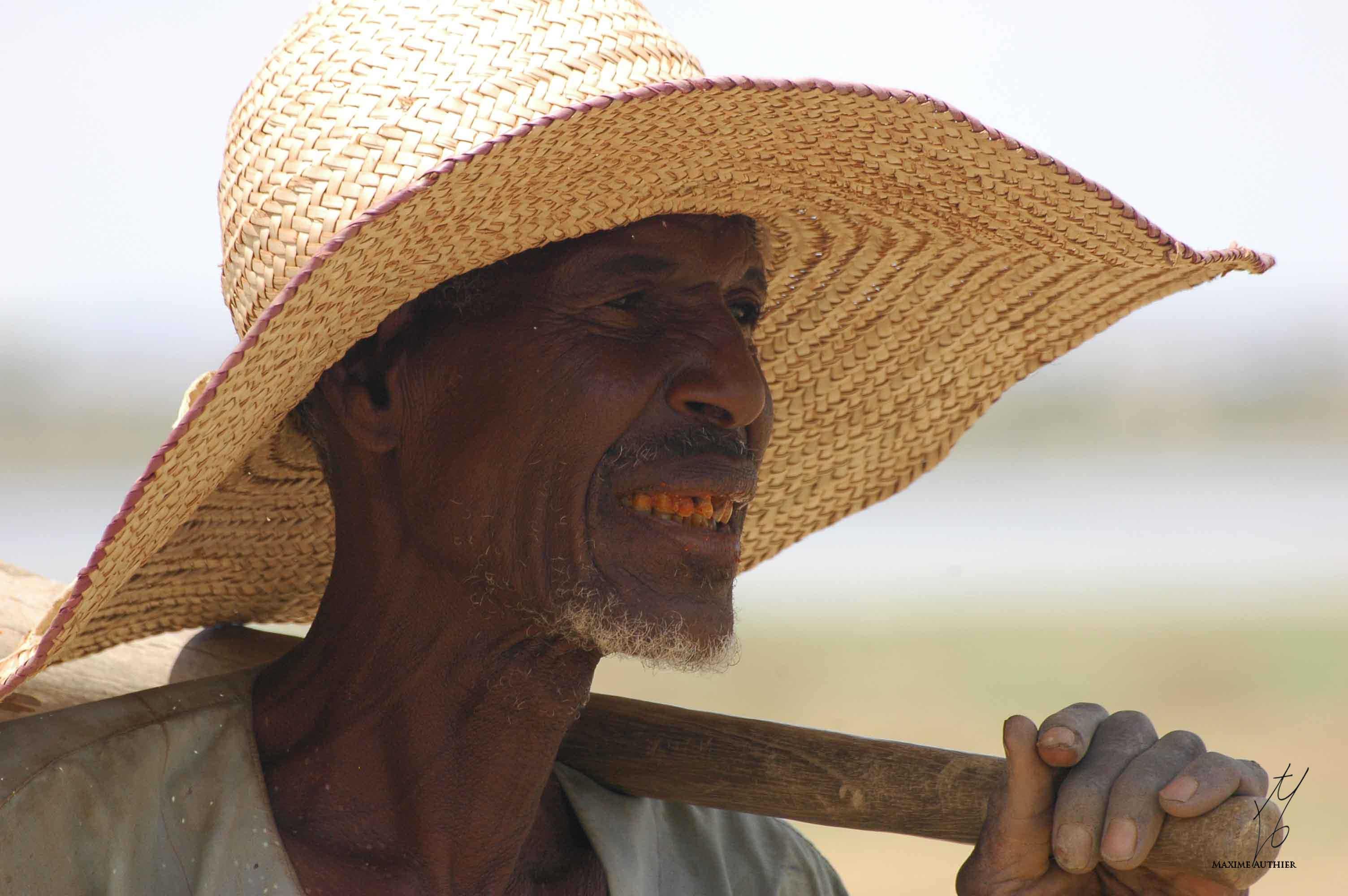 Un paysan au Niger